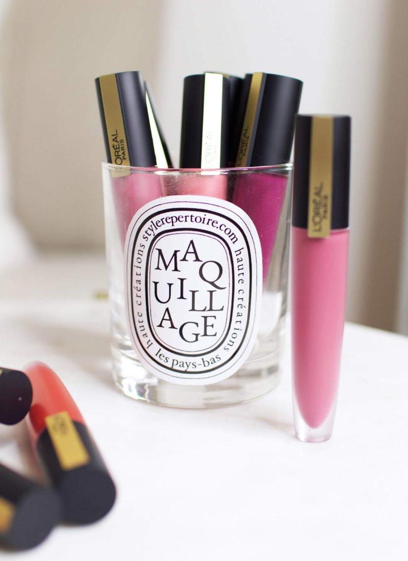 L'Oréal Rouge Signature Lipstick Collection