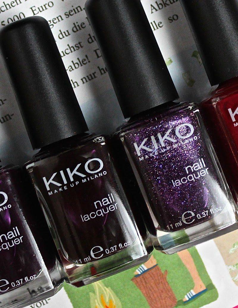 Favourite Autumnal Nail Polishes: Kiko