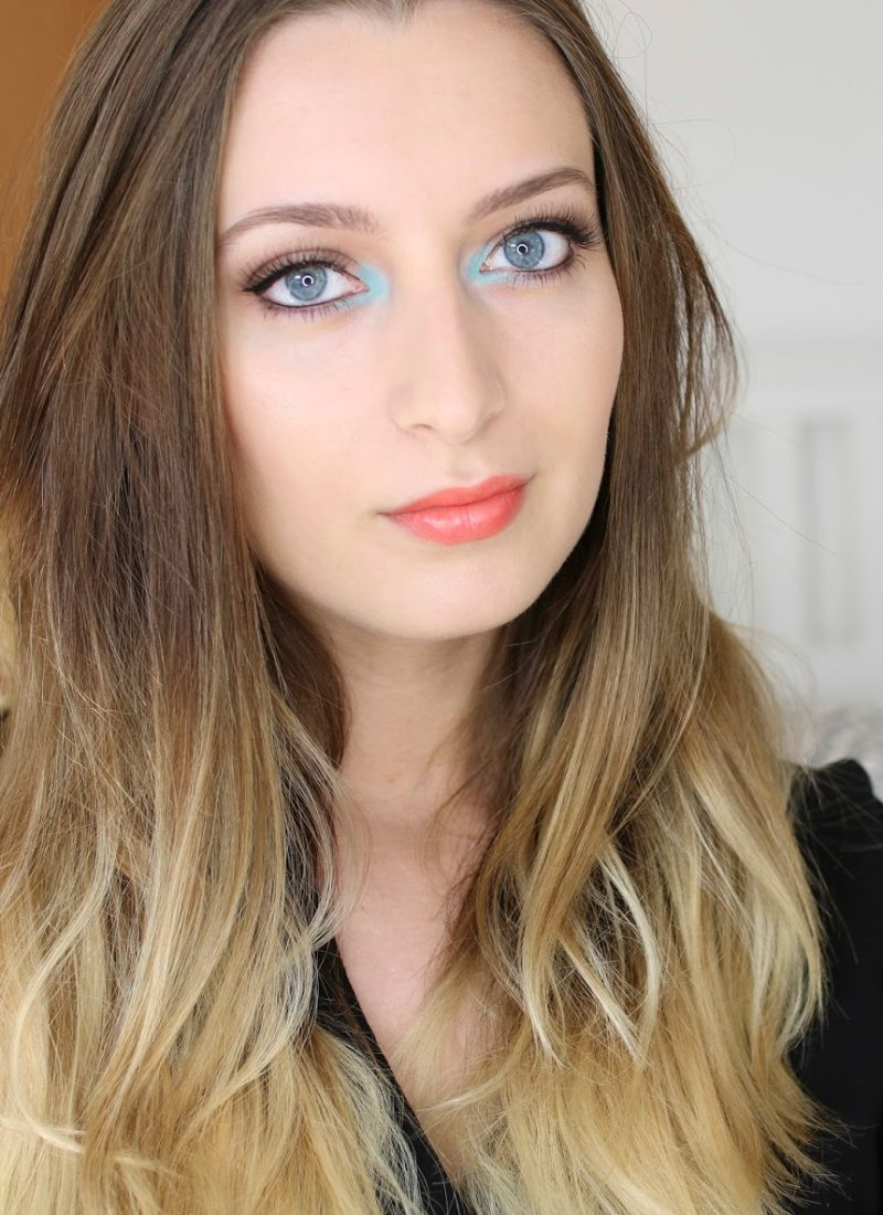 Summer Makeup: Pop Of Turquoise