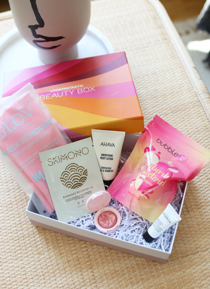 LookFantastic Beauty Box August 2021