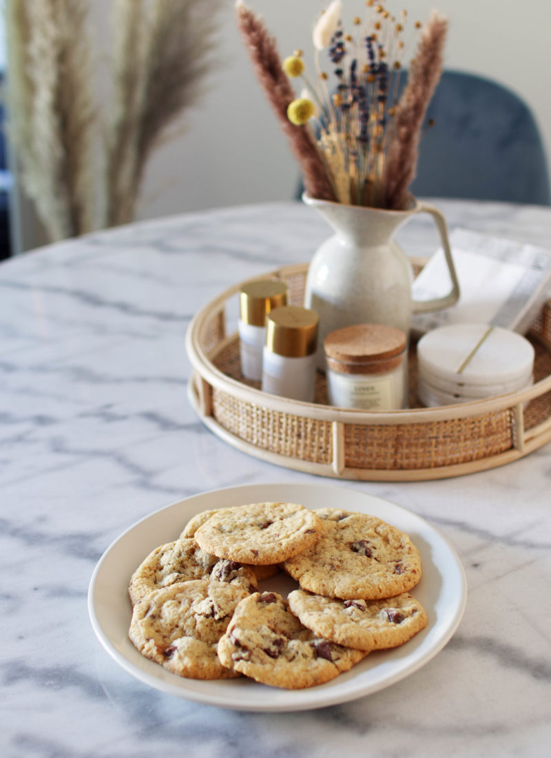 Vegan & Gluten-Free Salted Caramel Chocolate Cookies