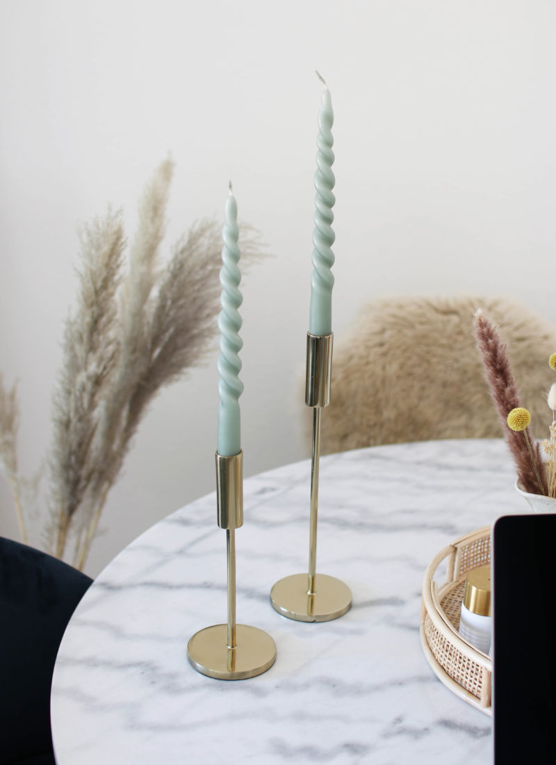 Interior Trends: Twisted Candles